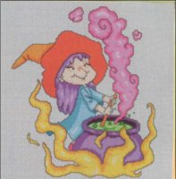 Ведьмочка в рыжей шляпке