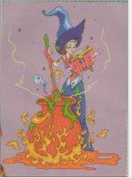 Ведьмочка с книгой