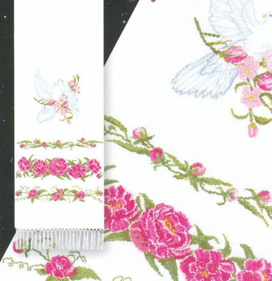 схемы свадебный рушник