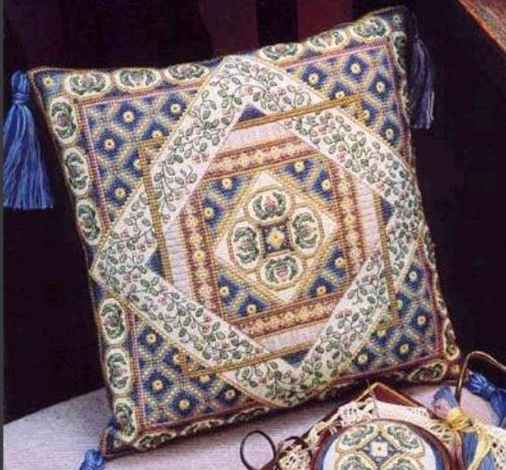 Схема вышивки орнамента