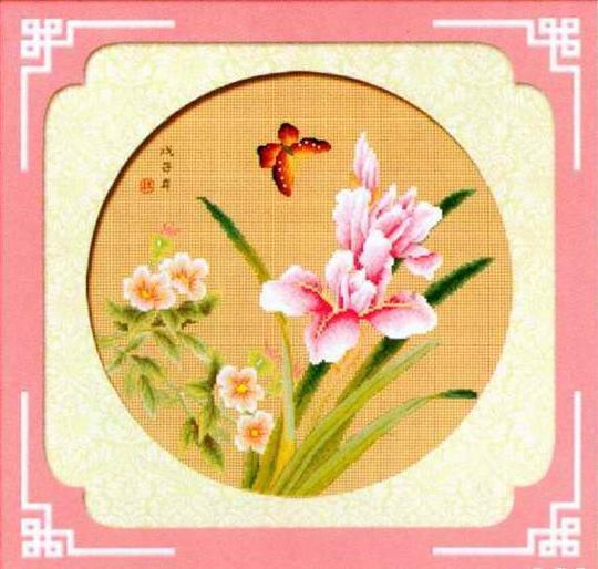 Схемы вышивки крестом с орхидеями