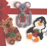 Мишка, мышка и пингвин