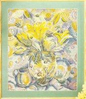 Натюрморт натюрморт с желтыми цветами