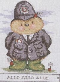Ёжик полицейский