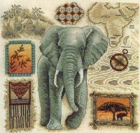Сэмплер со слоном