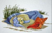 Шляпка на песке