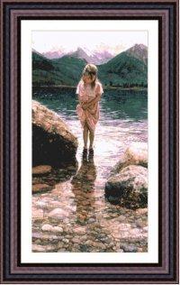 Девочка у реки