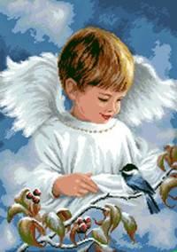 Ангел и синичка