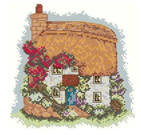 Дом с желтой крышей вариант 1
