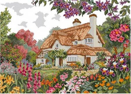 Коттедж с соломенной крышей