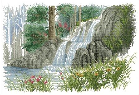 Водопад вариант 1