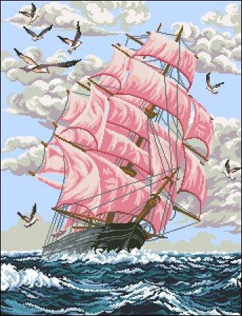 Розовые паруса
