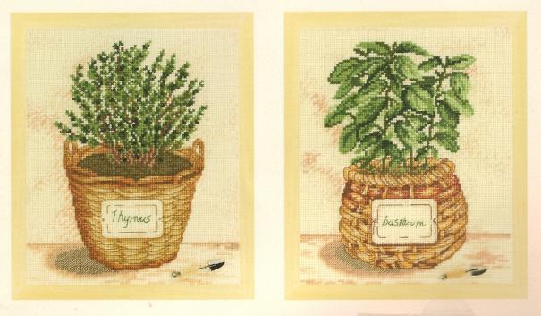 Ароматные травы схема вышивки
