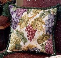 Подушка виноград